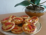 Slané košíčky z listového těsta recept