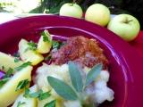 Krkovička s jablečnou omáčkou se šalvějí recept