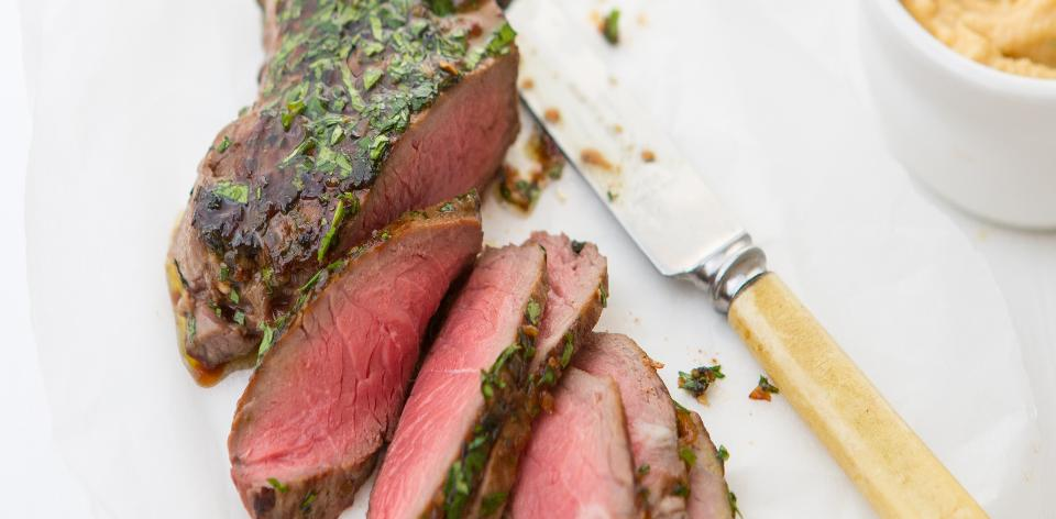 Steaky s koriandrem