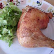Pečené kuřecí stehno v těstíčku recept