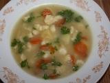 Bramborová polévka s haluškami recept