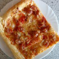Bramborová pizza z listového těsta recept