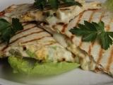 Quesadilla s vejci a jalapeňo recept