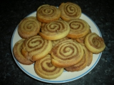 Skořicové sušenky  šneci recept
