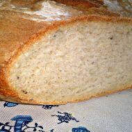 Můj první ošatkový domácí bílý bramborový kmínový chléb recept ...