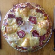 Sýrová pizza recept