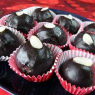 Lanýžové kuličky v čokoládě recept