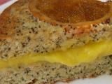 Mandlovo makový koláč s pomeranči recept