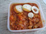 Vepřový rajčatový guláš recept