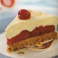 Višňový dort s vanilkovým krémem recept