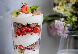 Snídaňový pohár recept