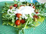 Rajčatovo-salanový salát recept