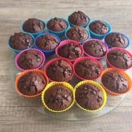 Poctivé čokoládové muffiny s pudinkem recept