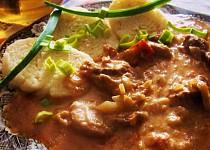 Ostrá španělská omáčka recept