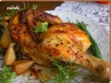 Kuře pečené na bylinkách recept