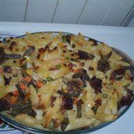 Těstoviny zapékané s mletým masem recept