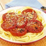 Pečená rajčata s makarony recept