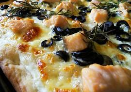 Al salmone  Pizza s lososem recept