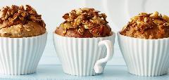 Snídaňové müsli muffiny