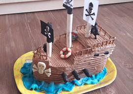 Pirátská loď recept