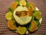 Hermelín plněný mandarinkou a banánem recept
