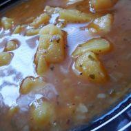 Bramborová polévka na červeno recept