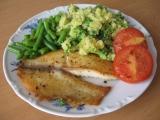 Tilápie na tymiánu s brokolicovou kaší a fazolkami recept ...