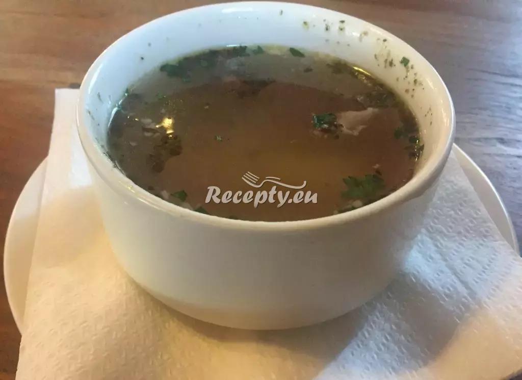 Kroupová polévka recept  polévky