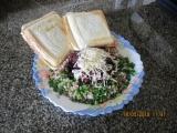 Pohanka s fazolí a toastem recept