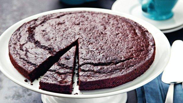 Čokoládovo-fazolový koláč