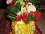 Kytice v melounové váze recept