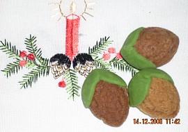 Plněné ořechy  těsto bez ořechů recept