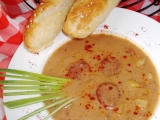 Polévka s uzenou paprikou a mlékem recept