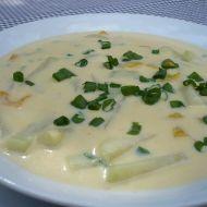 Bílá polévka s kedlubnou recept