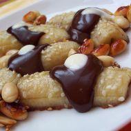 Zapékaný banán s čokoládovým šodó recept