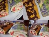 Čokoládová / marmeládová roláda recept