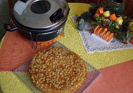 Bramborová buchta se škvarky recept