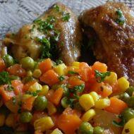 Kuřecí paličky zapečené se zeleninou recept