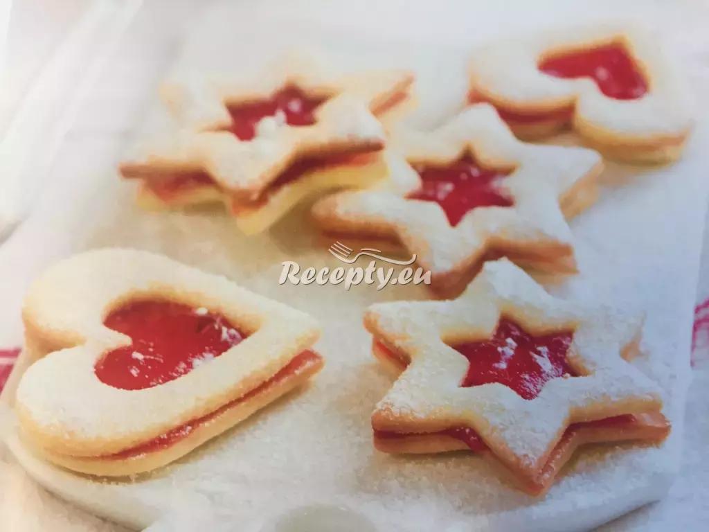Linecké cukroví recept  nejen vánoční cukroví