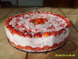 Jahodový dort pro dceru recept