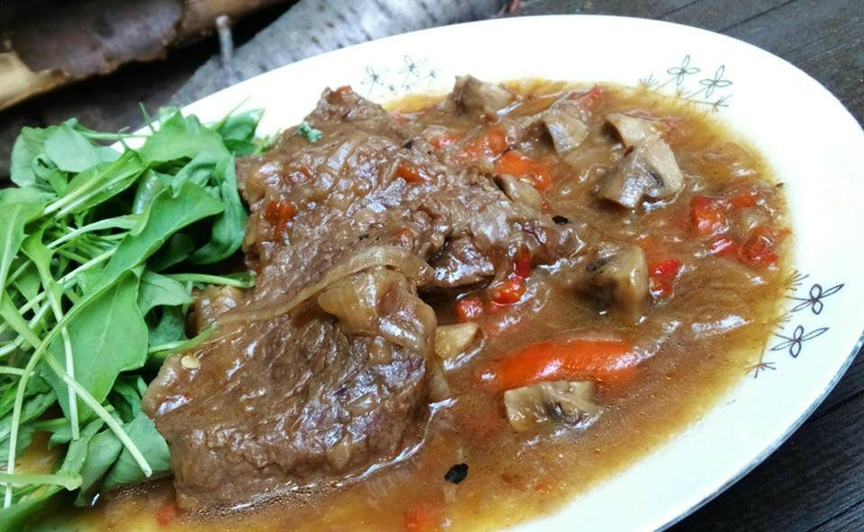 Chalupářské maso recept