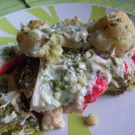 Zapékaná brokolice s nivou recept
