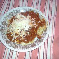 Rychlá boloňská omáčka recept