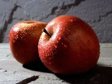 Jablečná pěna.