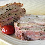Skládané pečené vepřové maso recept