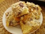 Rychlý koláč s ovocem z jogurtu, tvarohu, máku a kokosu recept ...
