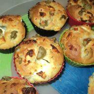 Olivové muffiny s balkánským sýrem recept