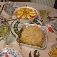 Vánoční celerový salát recept