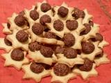 Hvězdičky s kořeněnou čokokuličkou recept