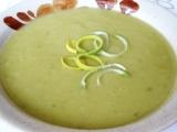 Bramborová polévka s pórkem a la pyré recept